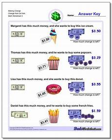 money worksheets counting back change 2082 change