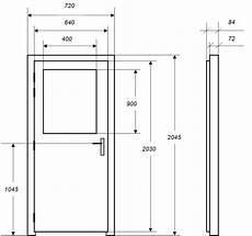Dimension D Une Porte Standard