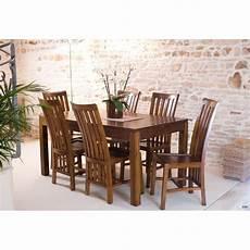 chaises table à manger 77039 table 224 manger mindi rallonge 160 200 cm meubles macabane meubles et objets de d 233 coration