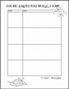 nature observation worksheets 15139 free printable quot on my walk quot observation sheets weareteachers