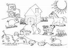 Ausmalbilder Vorlagen Bauernhof Ausmalbilder Bauernhof 01 Kinderbasteln U Malen
