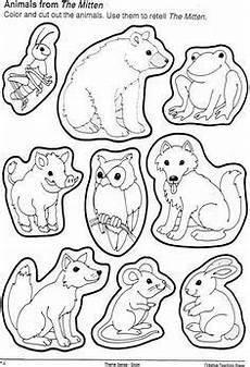 Zootiere Malvorlagen Text Ausmalbild Oder Abpausen F 252 R Kinder Natur Waldtiere