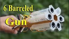 easy homemade weapons how to make 6 barrel shotgun using