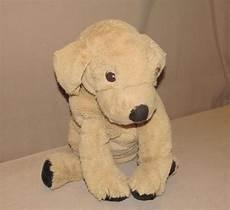 ikea brown golden retriever gosig puppy plush