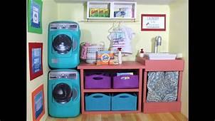 DIY American Girl Doll Washing Machine  YouTube