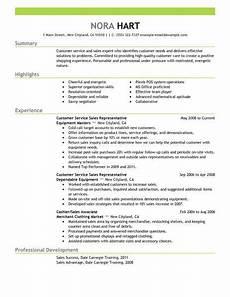 good customer service resume summary templates microsoft