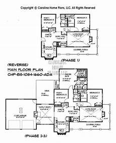 small expandable house plans build in stages small house plan bs 1084 1660 ad sq ft