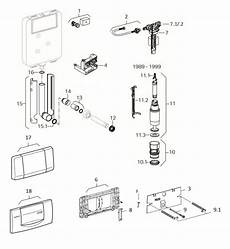 cassetta di scarico geberit rintracciare i ricambi di una cassetta ad incasso geberit