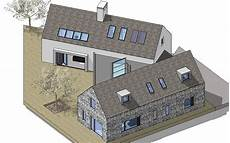 irish bungalow house plans contemporary 4 bedroom irish countryside dwelling