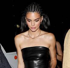 Kendall Jenner Kendall Jenner Gets Slammed For Wearing Cornrow Braids Again