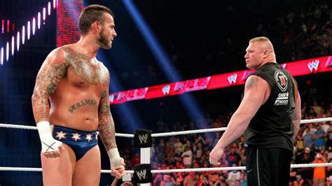 Cm Punk Vs Brock Lesnar