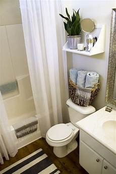 small apartment bathroom ideas small rental bathroom makeover 2 not a passing fancy