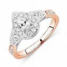 sir michael hill designer grandamoroso engagement ring with 0 71 carat tw of diamonds in 14kt