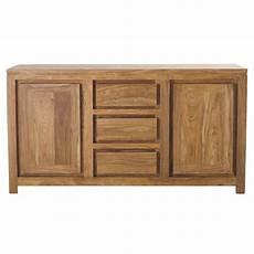 credenza legno credenza in massello di legno di sheesham l 160 cm