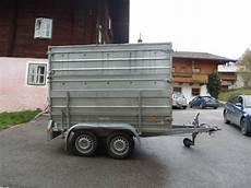 Pkw Anhänger Gebraucht - pkw tandemanh 228 nger marke pongratz pickerl neu