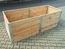 Hochbeet Holz Bausatz - hochbeet gr 1 mtr breit x 2 mtr lang 85cm hoch