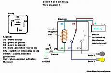 12 volt 5 pin relay wiring diagram hournine racecraft bosch normal relay wiring