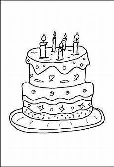 Malvorlagen Geburtstag Ideen Malvorlage Geburtstagstorte In 2020 Ausmalbilder