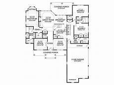 single story house plans with walkout basement house plan craftsman ranch finished walkout basement