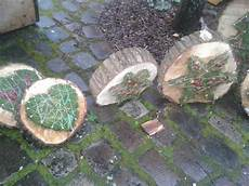 Nagel Moos Baumscheibe Deko Weihnachtsbasteln