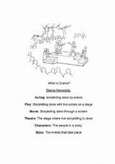 introduction to drama worksheet english worksheets introduction to drama