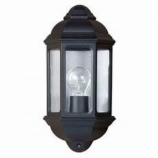 yg 5004 outdoor wall light in black