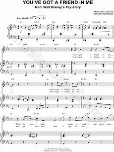 randy newman quot you ve got a friend in me quot sheet music in eb major transposable download