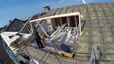 hier entsteht eine dachgaube