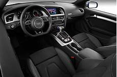 2012 audi a5 s line coupe blue interior detail in studio kimballstock