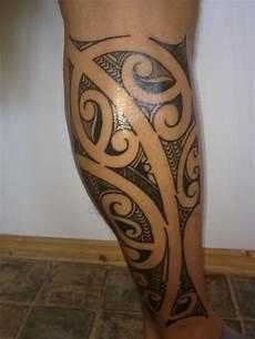 Insurancefuzzi Maori Auf Der Wade Tattoos