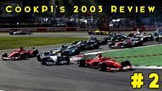 Cookp1 S Formula 1 2003 Season Review 2 Malaysia