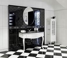 meuble salle de bain baroque noir tendance du moment la salle de bain en noir et blanc