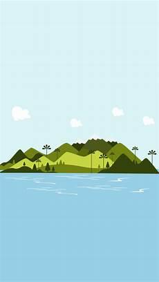 Wallpaper Ilustrasi Laut Alam Karya Seni Gambar