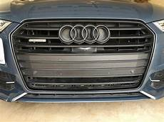 black audi rings and exhaust covers audiworld forums