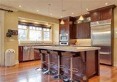 kitchen wall colors with cherry cabinets kitchen