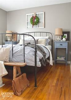 Bedroom Ideas Black Iron Bed by New Bed In The Master Bedroom The Golden Sycamore