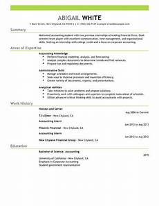 best training internship resume exle livecareer