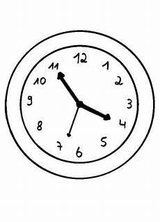 uhr malvorlagen quest uhr ausmalbilder kostenlos 01 clock