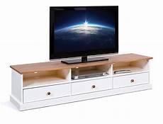 tv lowboard weiß landhausstil tv board westerland 180 cm kiefer wei 223 lowboard im