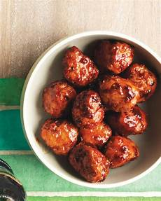 meatball appetizer recipes martha stewart