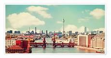 Vintage Berlin - berlin skyline retro posters and prints posterlounge co uk