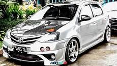 Modifikasi Toyota Etios Valco modifikasi toyota etios valco menggunakan hsr wheels