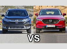2017 Honda CR V Vs 2017 Mazda CX 5   YouTube