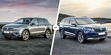 Vw Tiguan Allspace Vs Skoda Kodiaq Which Is Best Carwow
