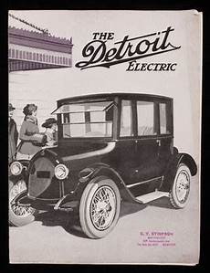 Detroit Electric Company by Detroit Electric Detroit Electric Car Company Detroit