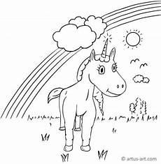 Ausmalbild Regenbogen Einhorn Ausmalbilder Einhorn 187 Traumhafte Einhorn Malvorlagen Zum