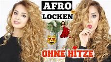 Afro Locken Ohne Hitze