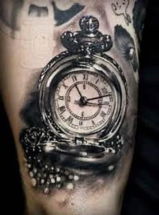 12 images tattoos pocket tattoos clock
