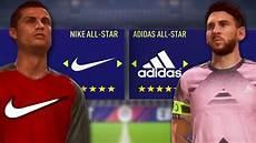 team nike vs team adidas sur fifa 18 match retour