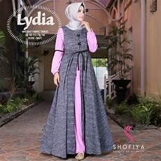 baju gamis terbaru harga murah untuk wanita muslimah bwm10